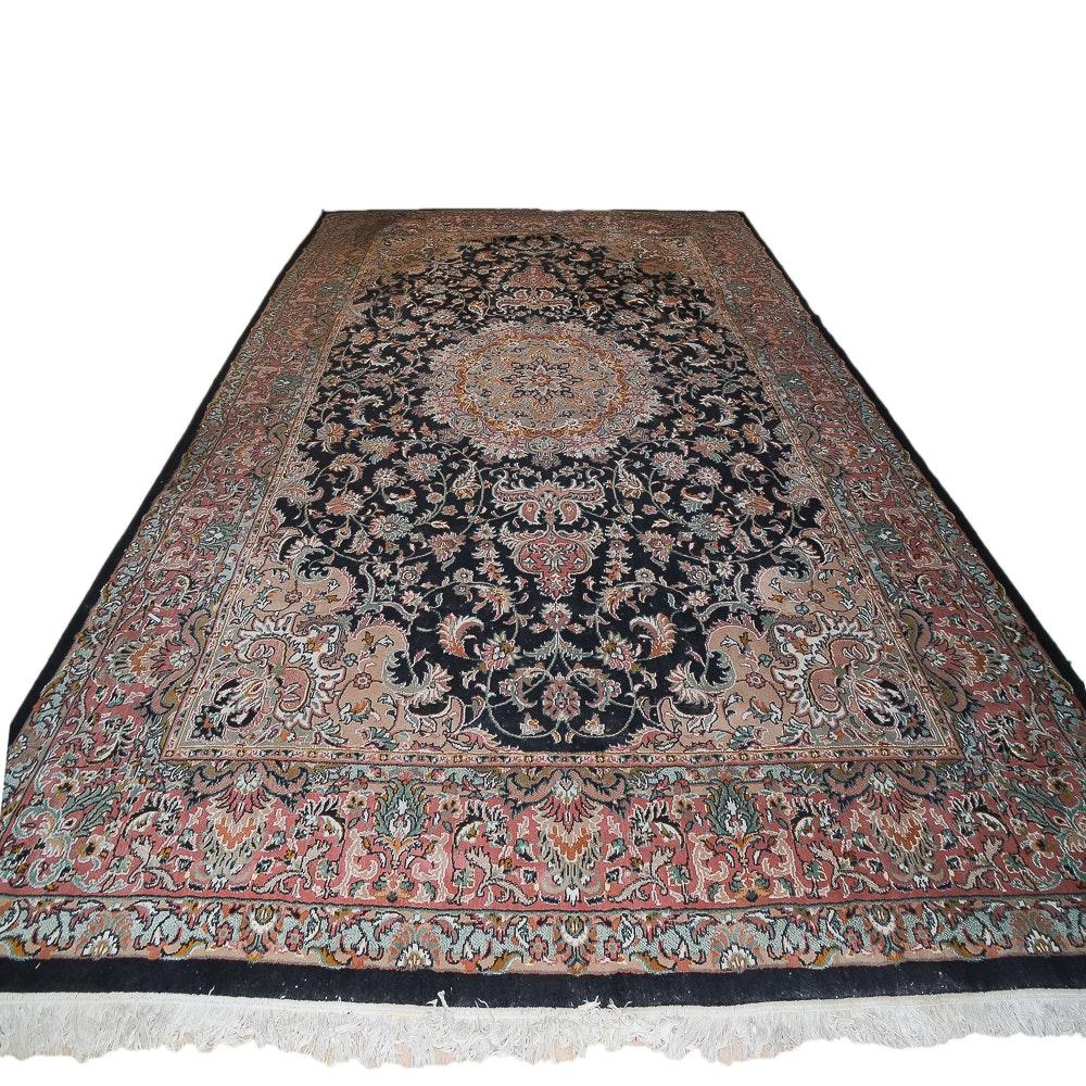 Large Power-Loomed Sahand Persian Area Rug