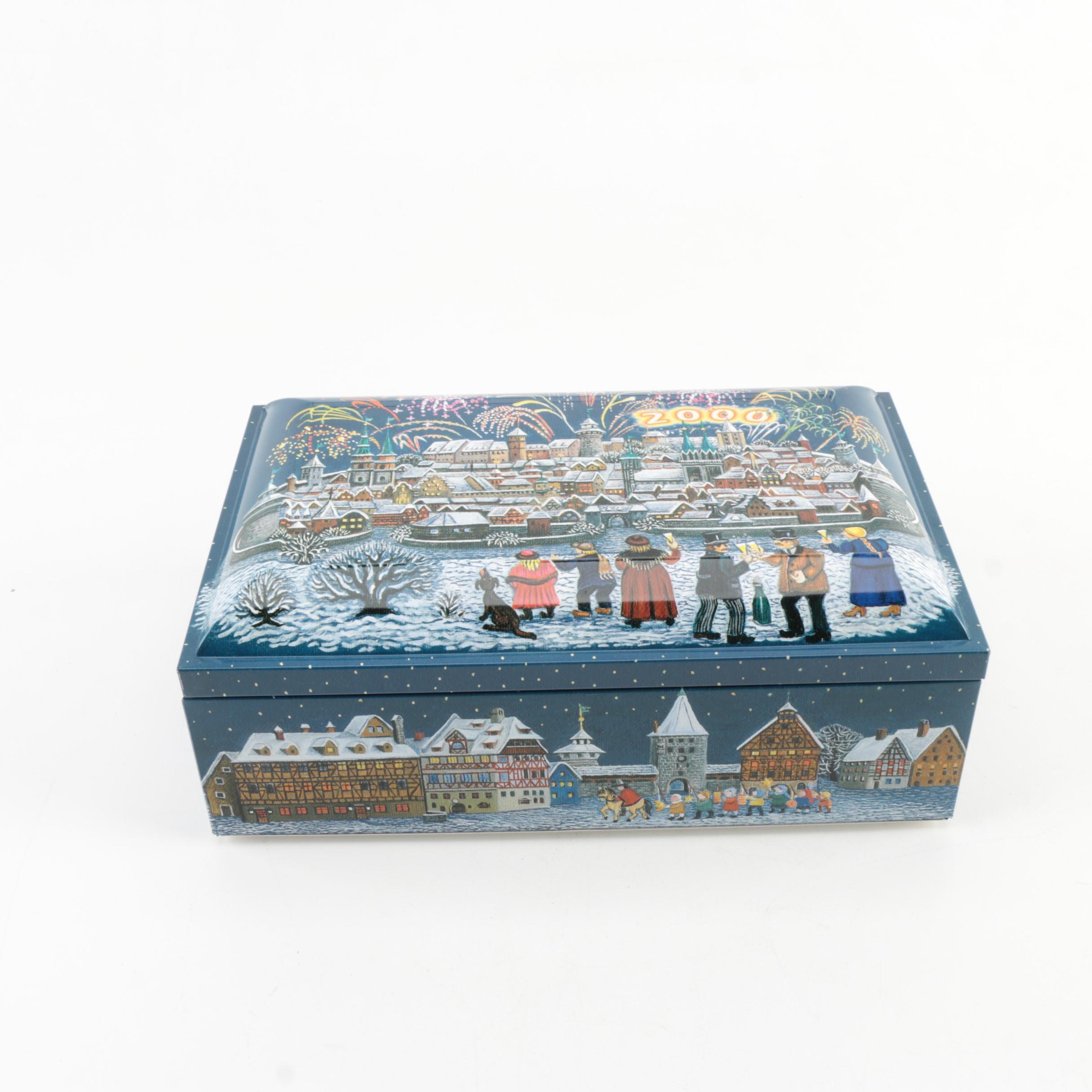 Lebkuchen Schmidt Holiday Tin Box