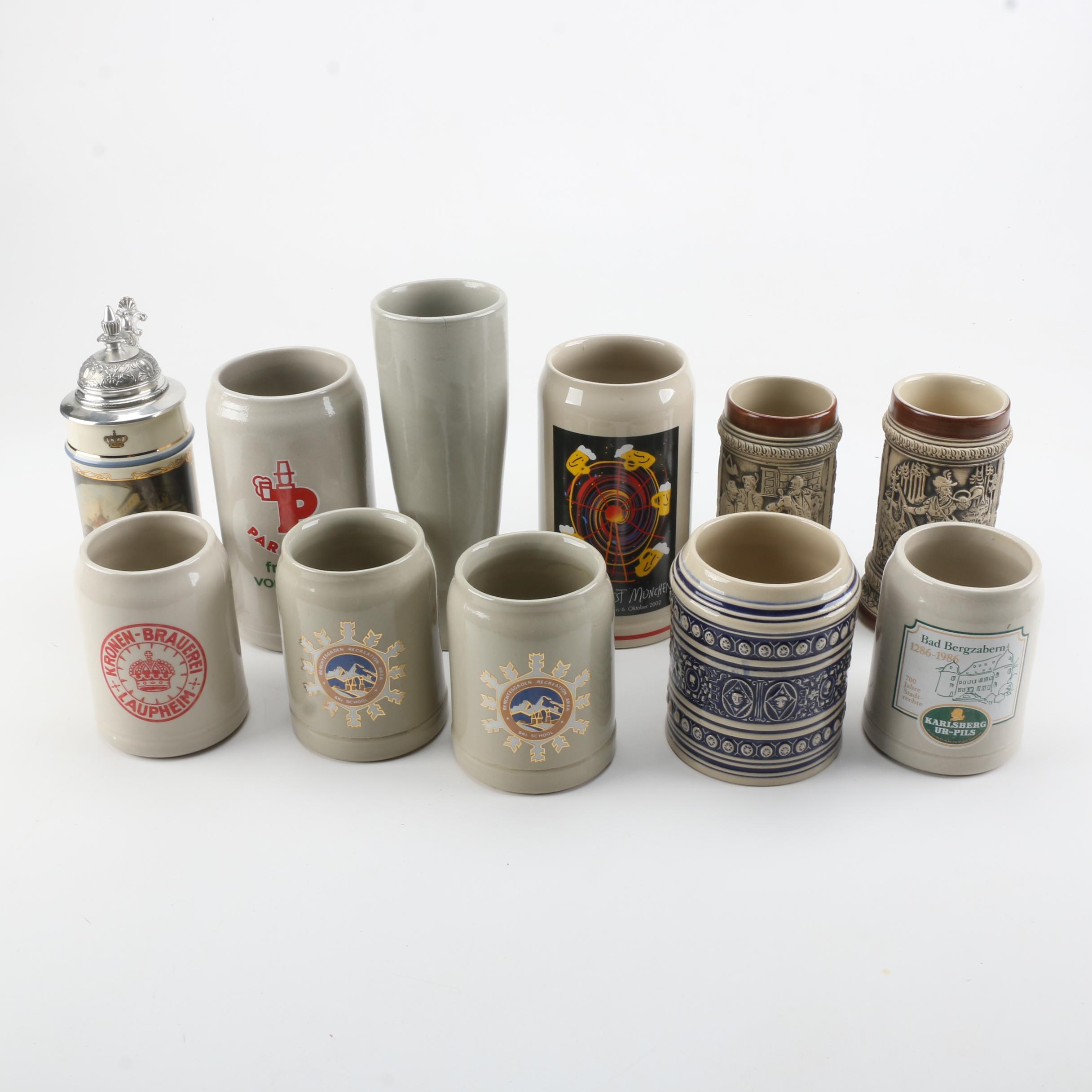 Ceramic Mugs and Steins