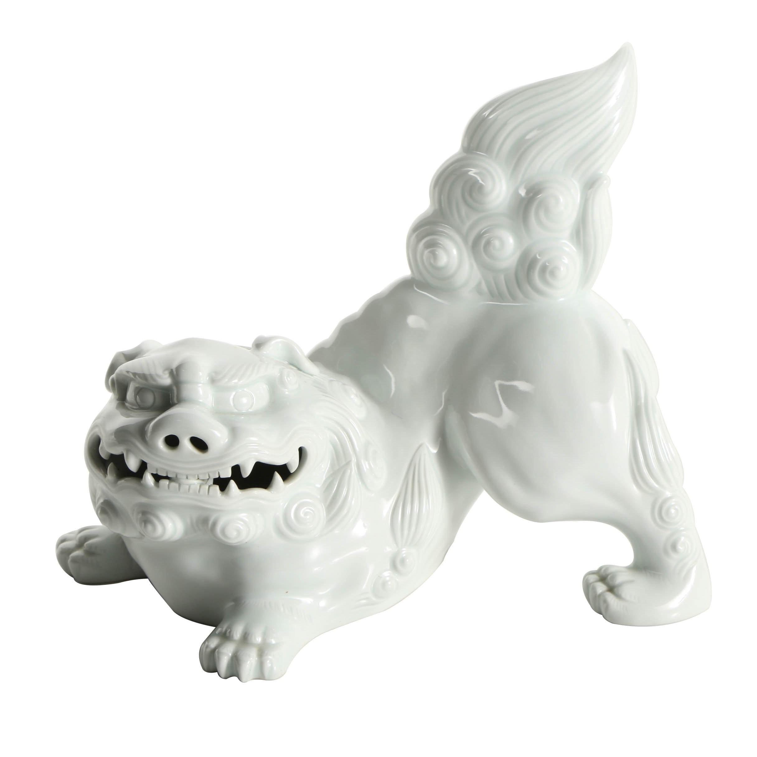 Japanese Nabeshima Ware Porcelain Komainu
