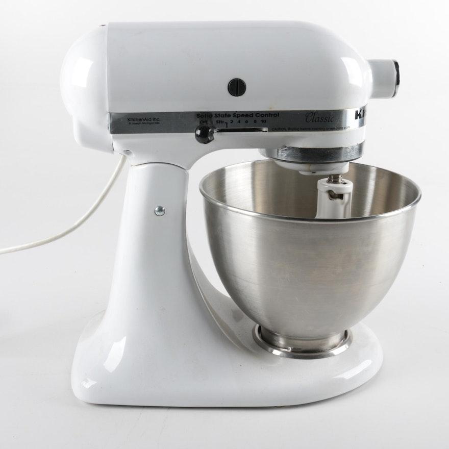 Kitchen Aid Mixer Model K45SS : EBTH on