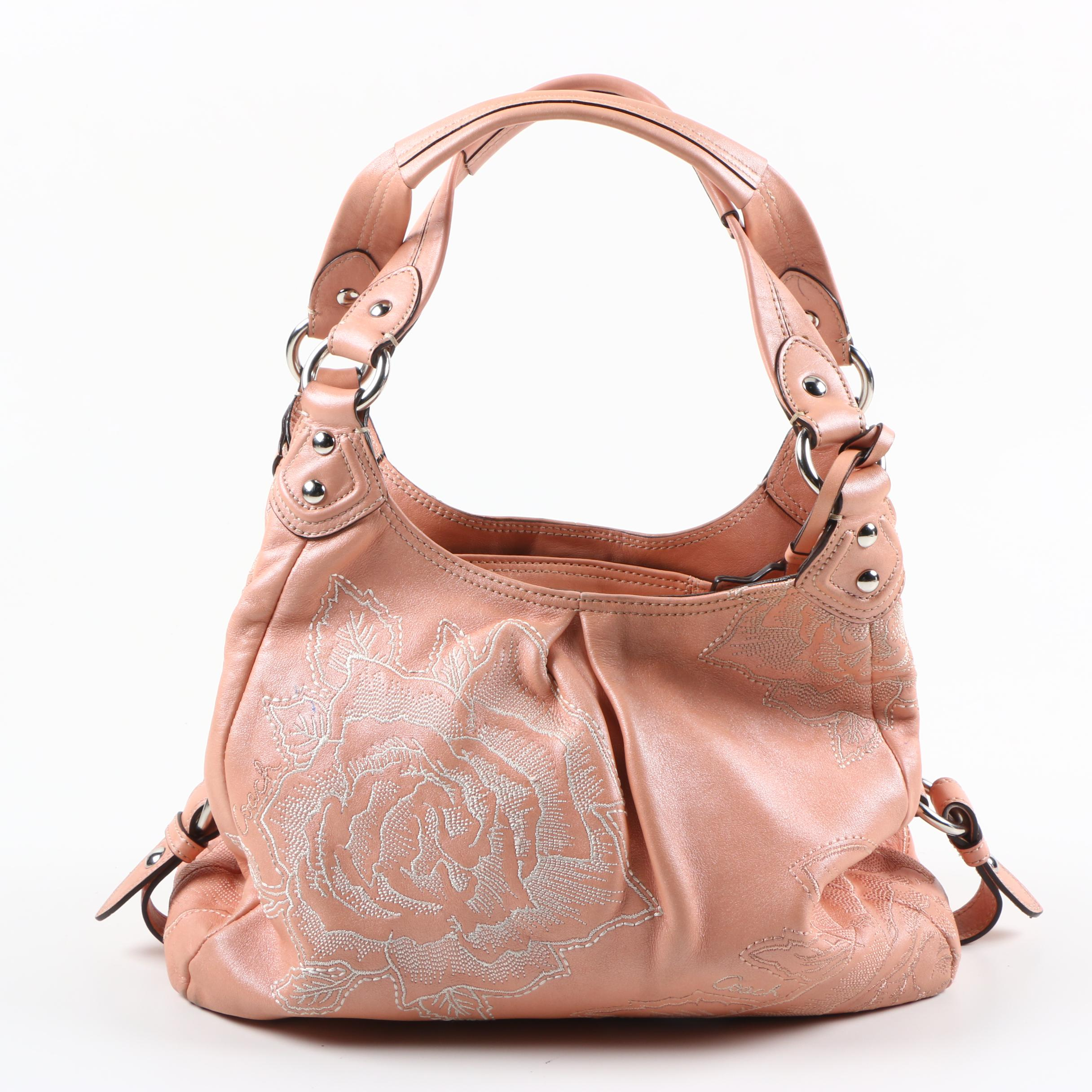 090dd9e93e ... coupon code for coach madison maggie blush pink rose leather handbag  2012d 26113