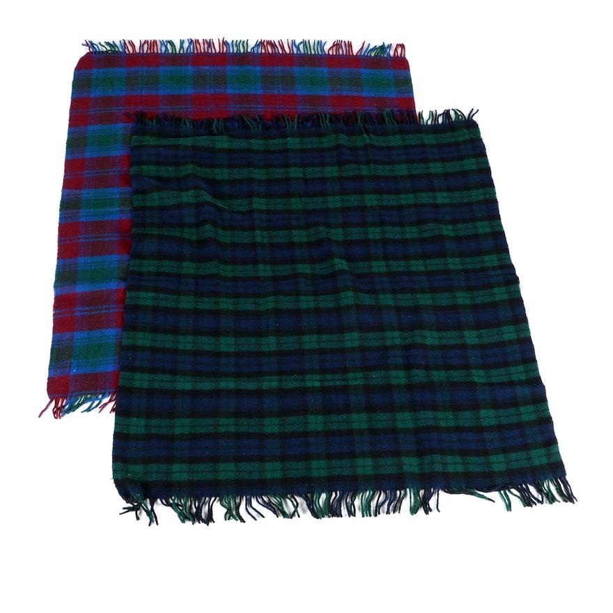 Moffat Woollens Tartan Travel Blankets