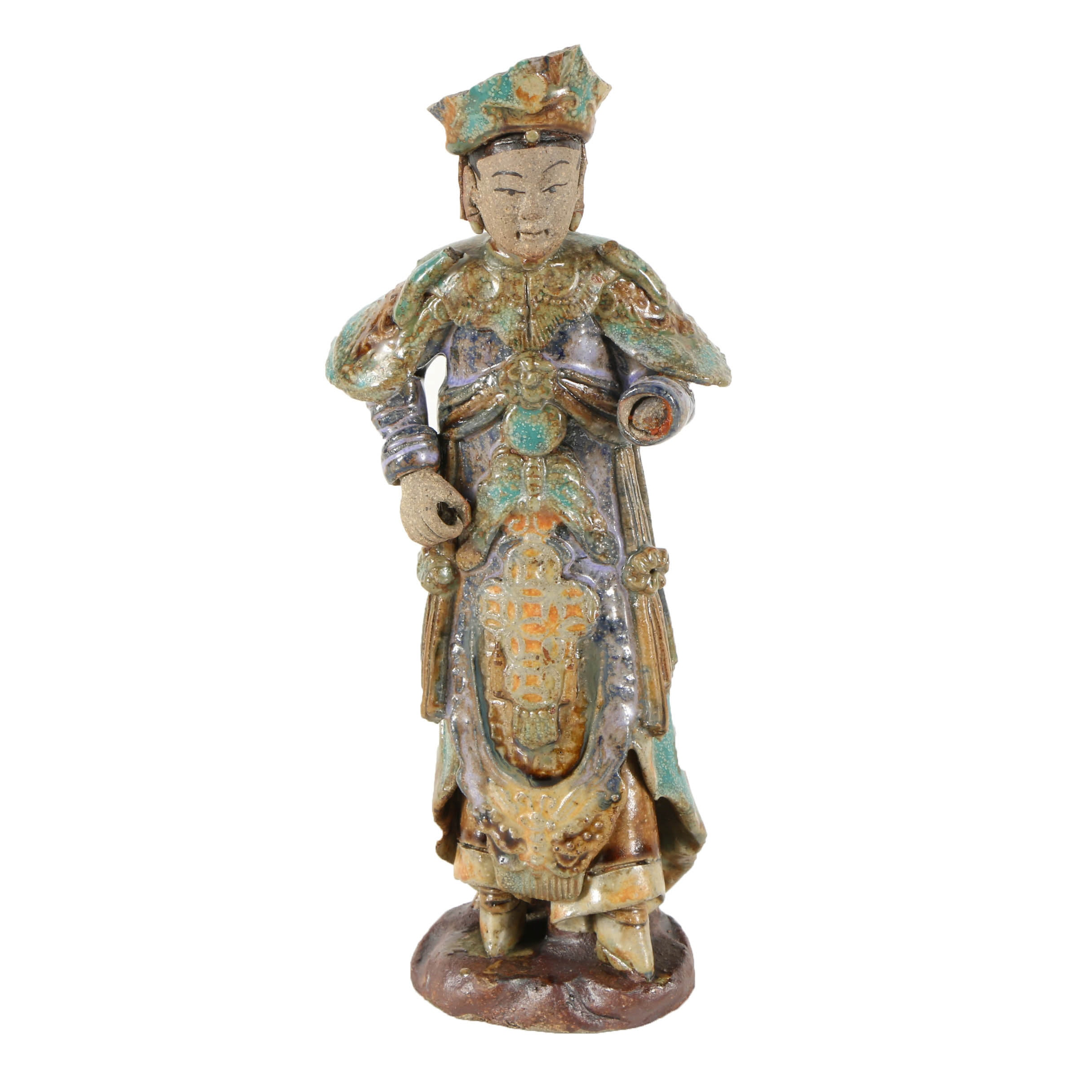 Chinese Ceramic Sculpture of a Woman