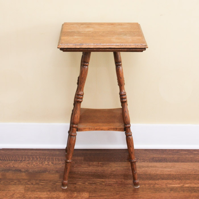 Antique Oak Occasional Table