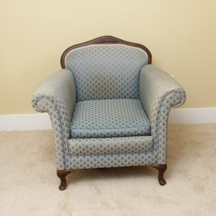 Vintage Victorian Style Armchair