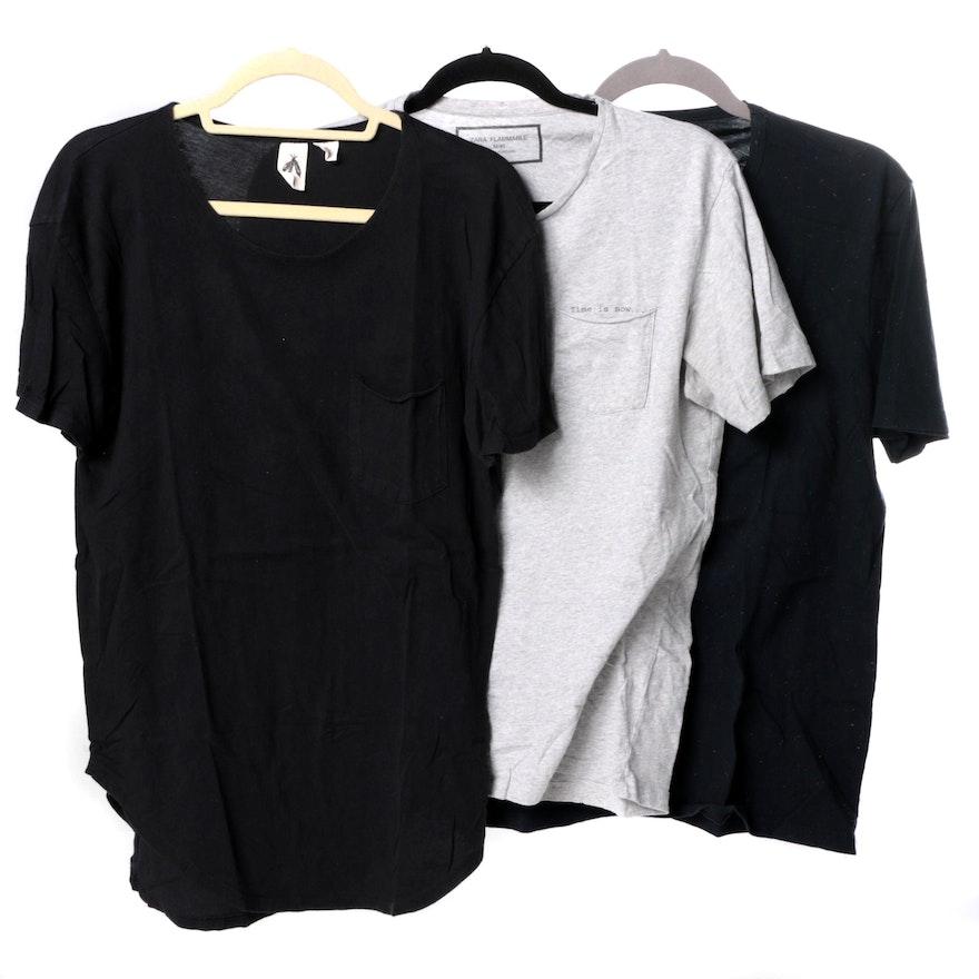 644e1dff Men's Short-Sleeve T-Shirts Including Zara Man | EBTH