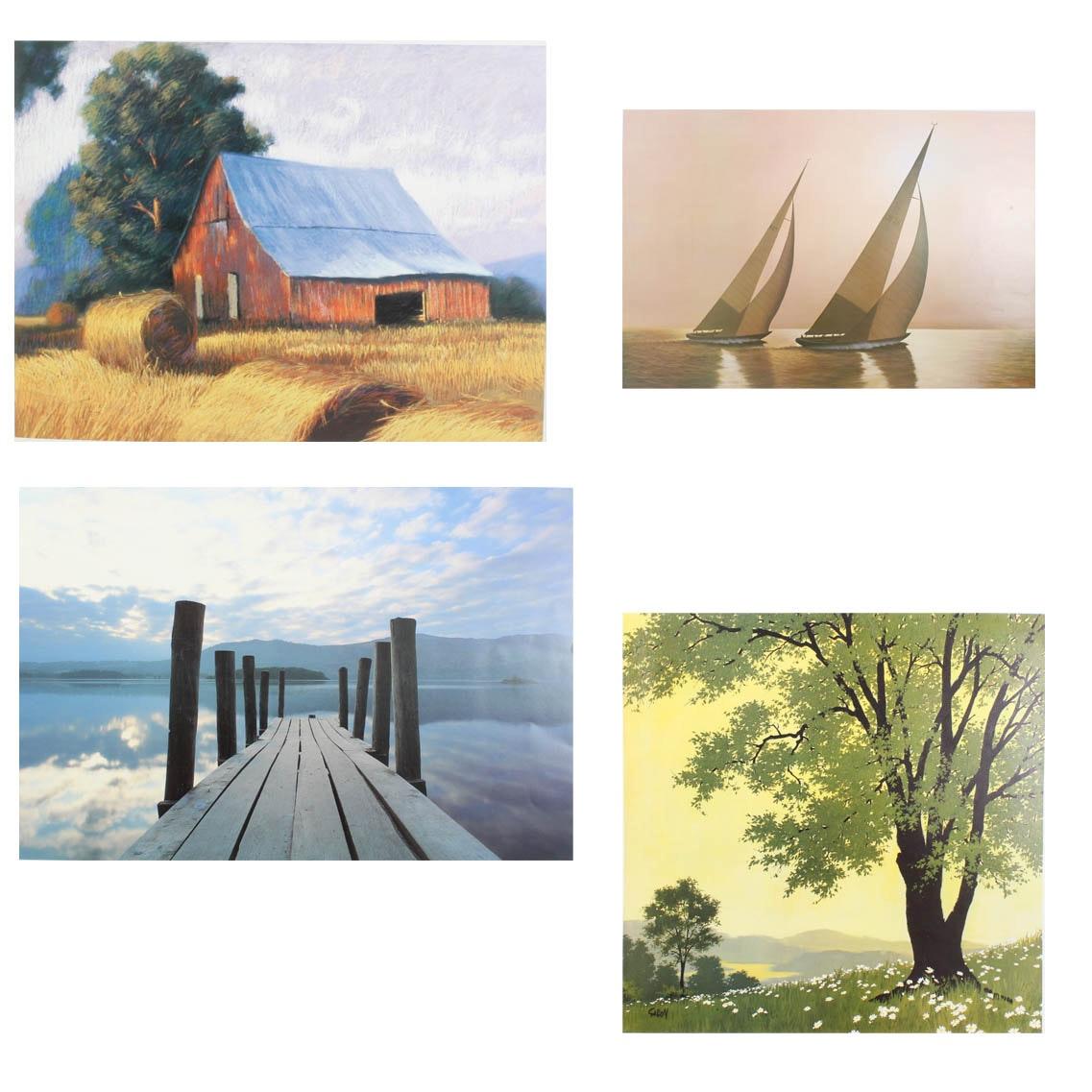 Offset Lithograph Art Prints