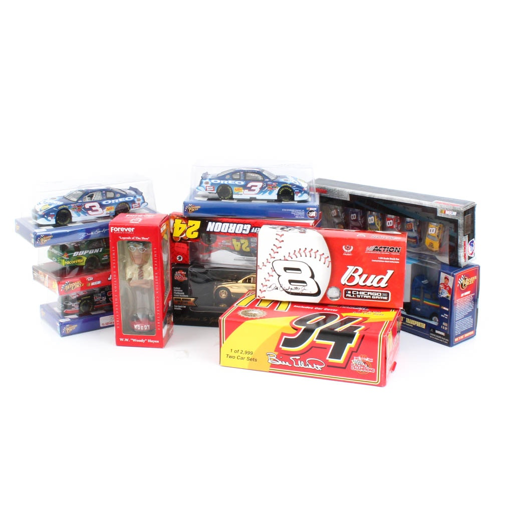 Generous Collection of NASCAR Die-Cast Vehicles