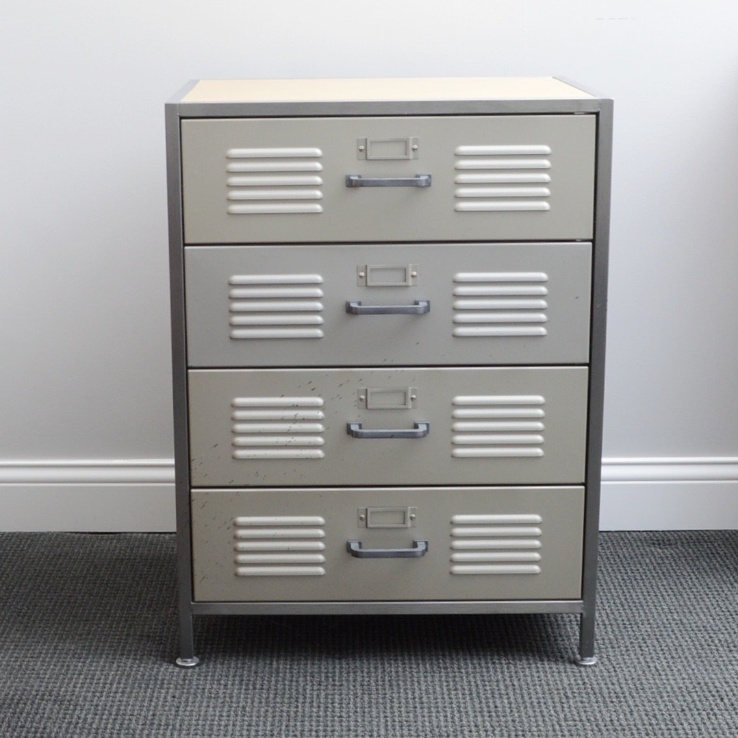 Locker Style Chest by Pottery Barn Teen