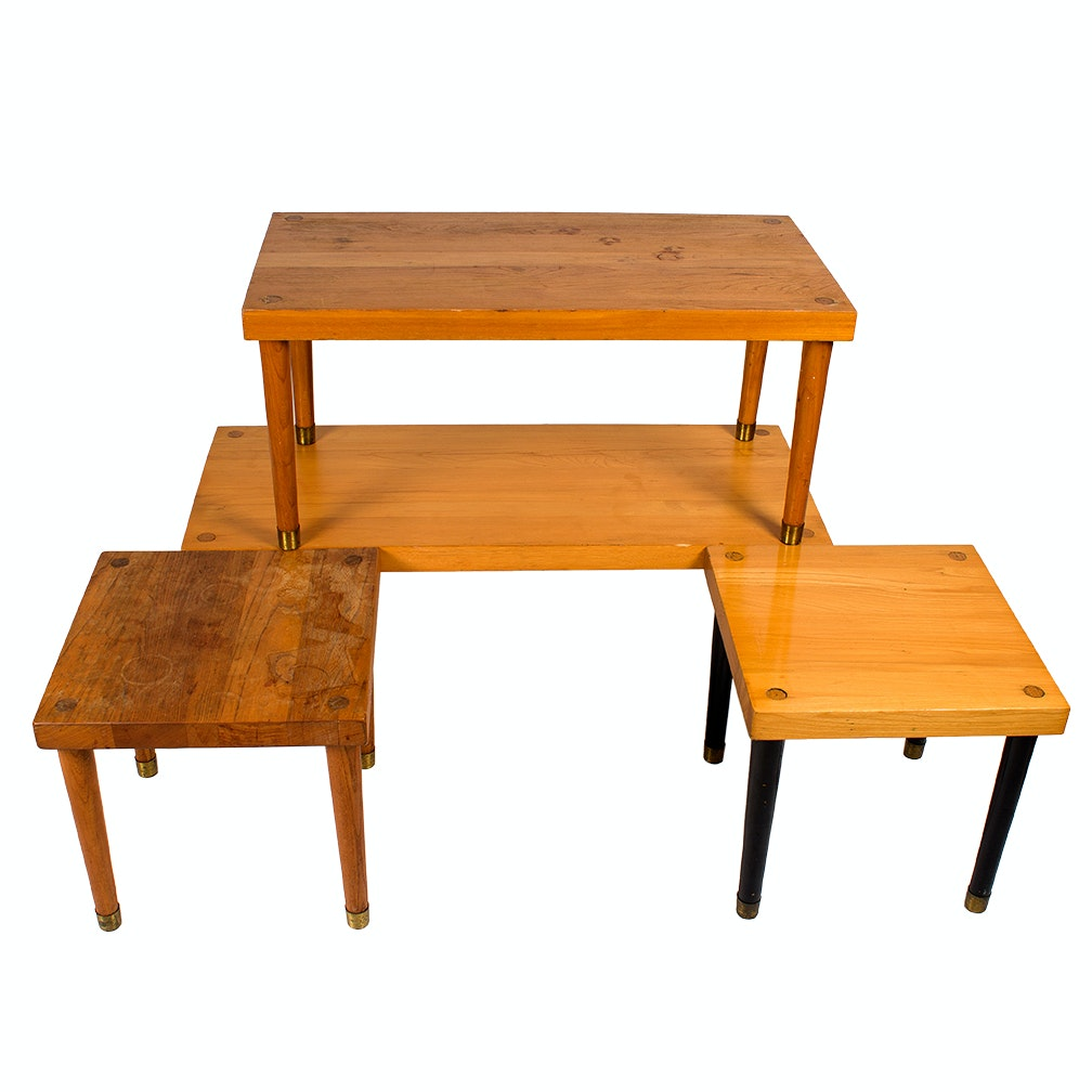 Old Hickory Mid Century Modern Tables
