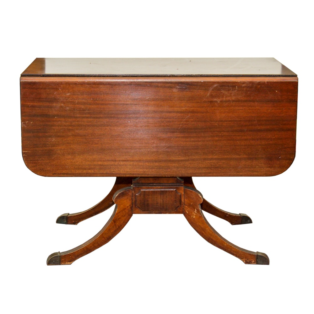 Rose Auto Sales >> Vintage Mahogany Drop Leaf Extension Table by Extensole : EBTH