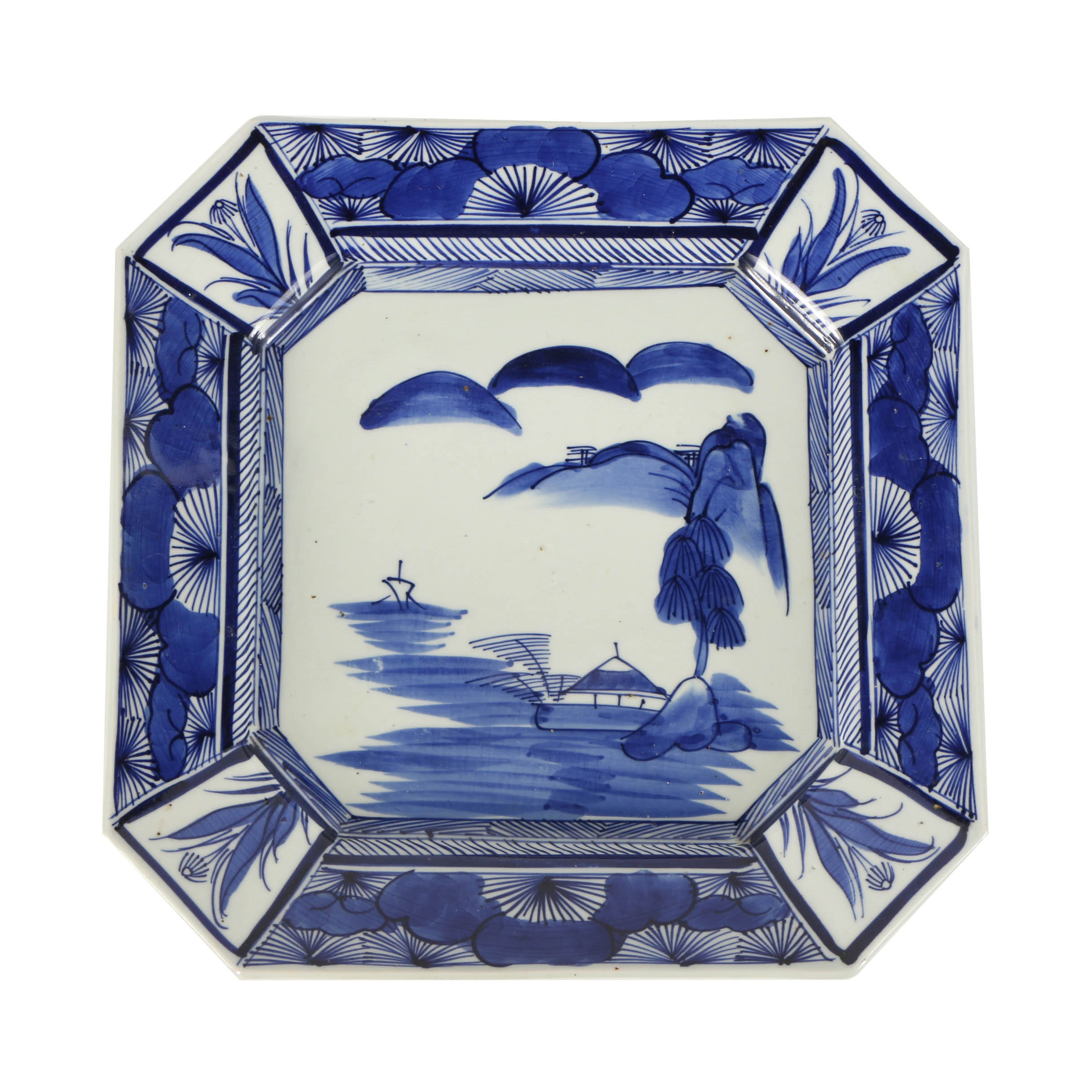 Japanese Decorative Porcelain Platter