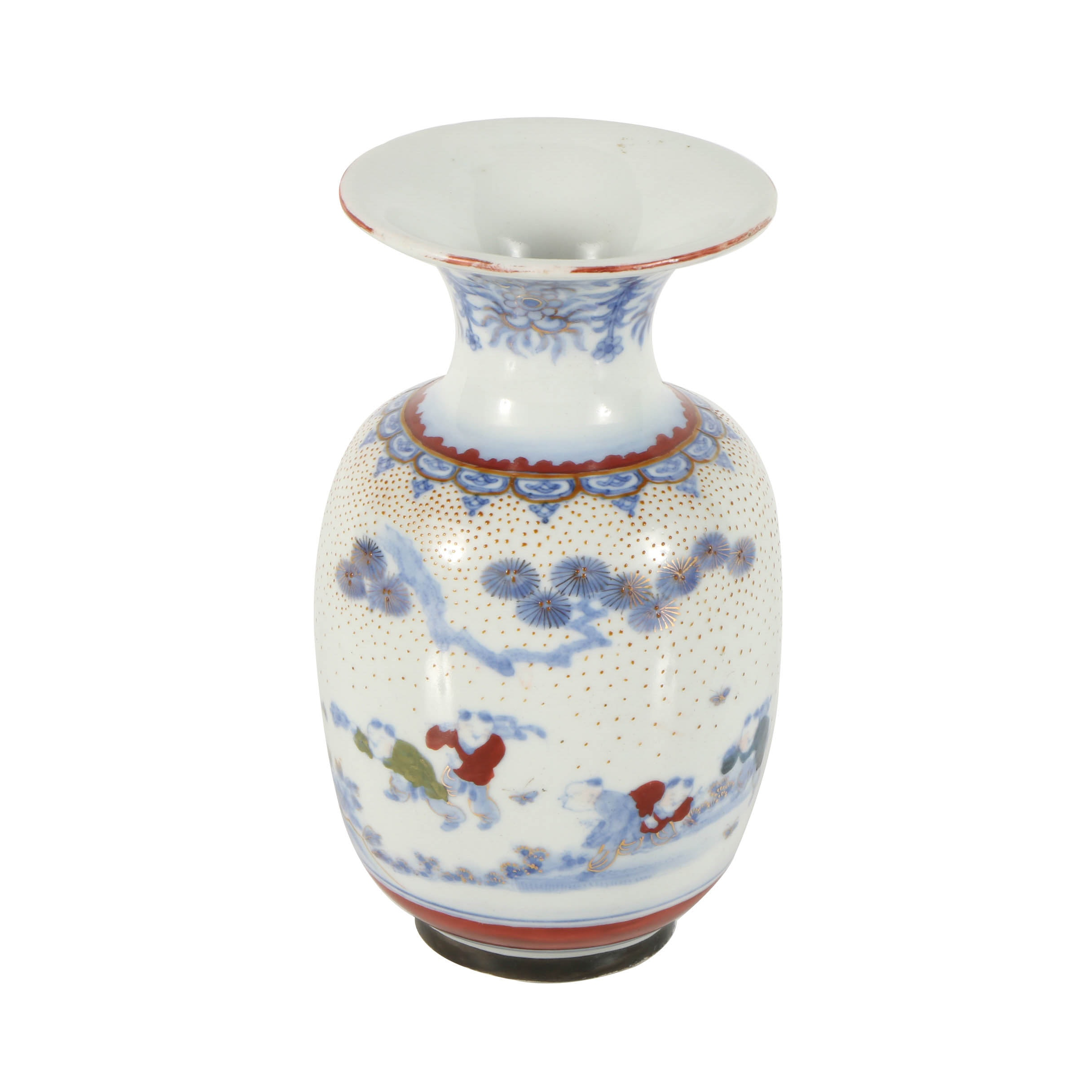 19th Century Japanese Hirado Vase
