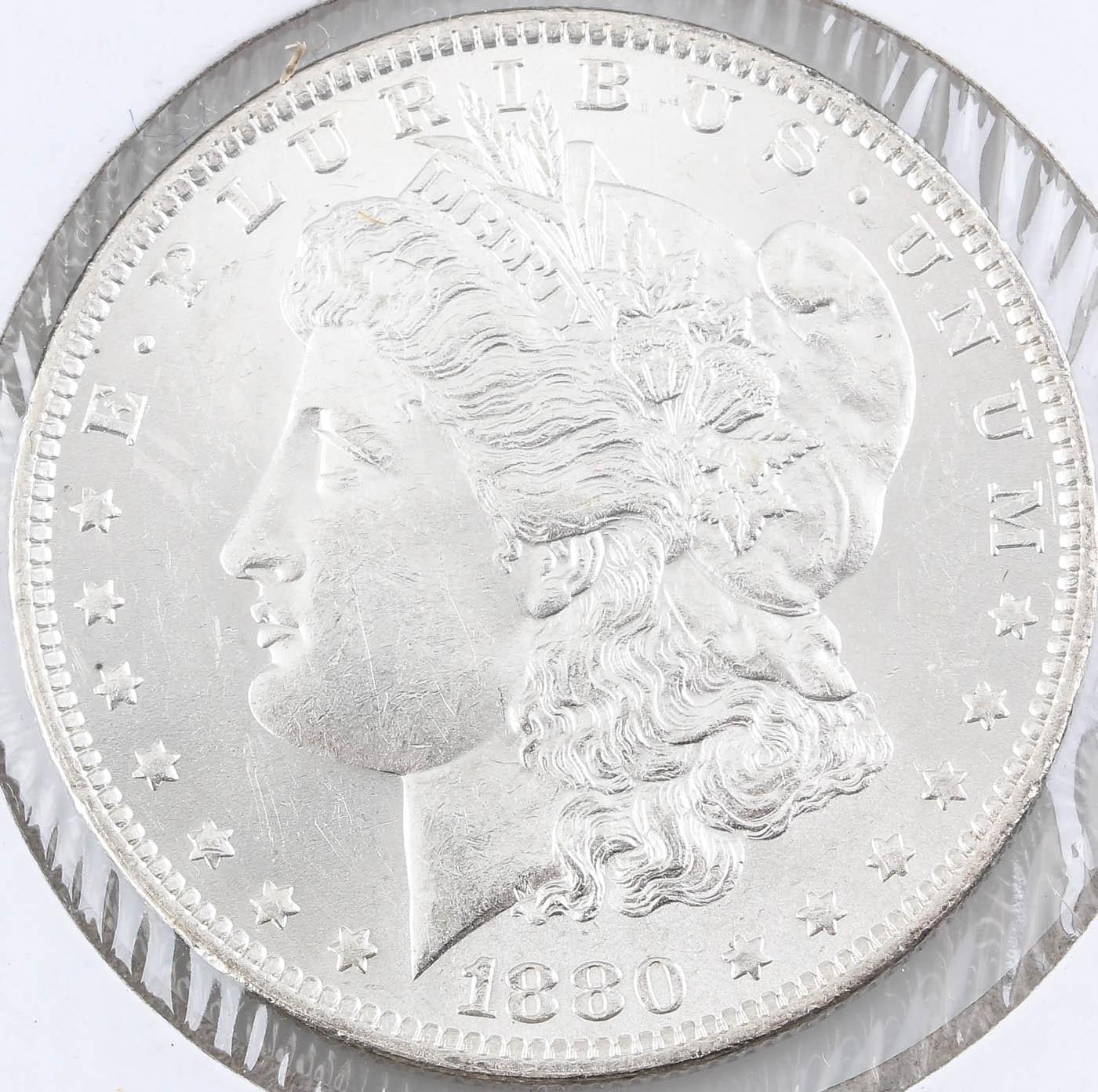 1880-O Silver Morgan Dollar