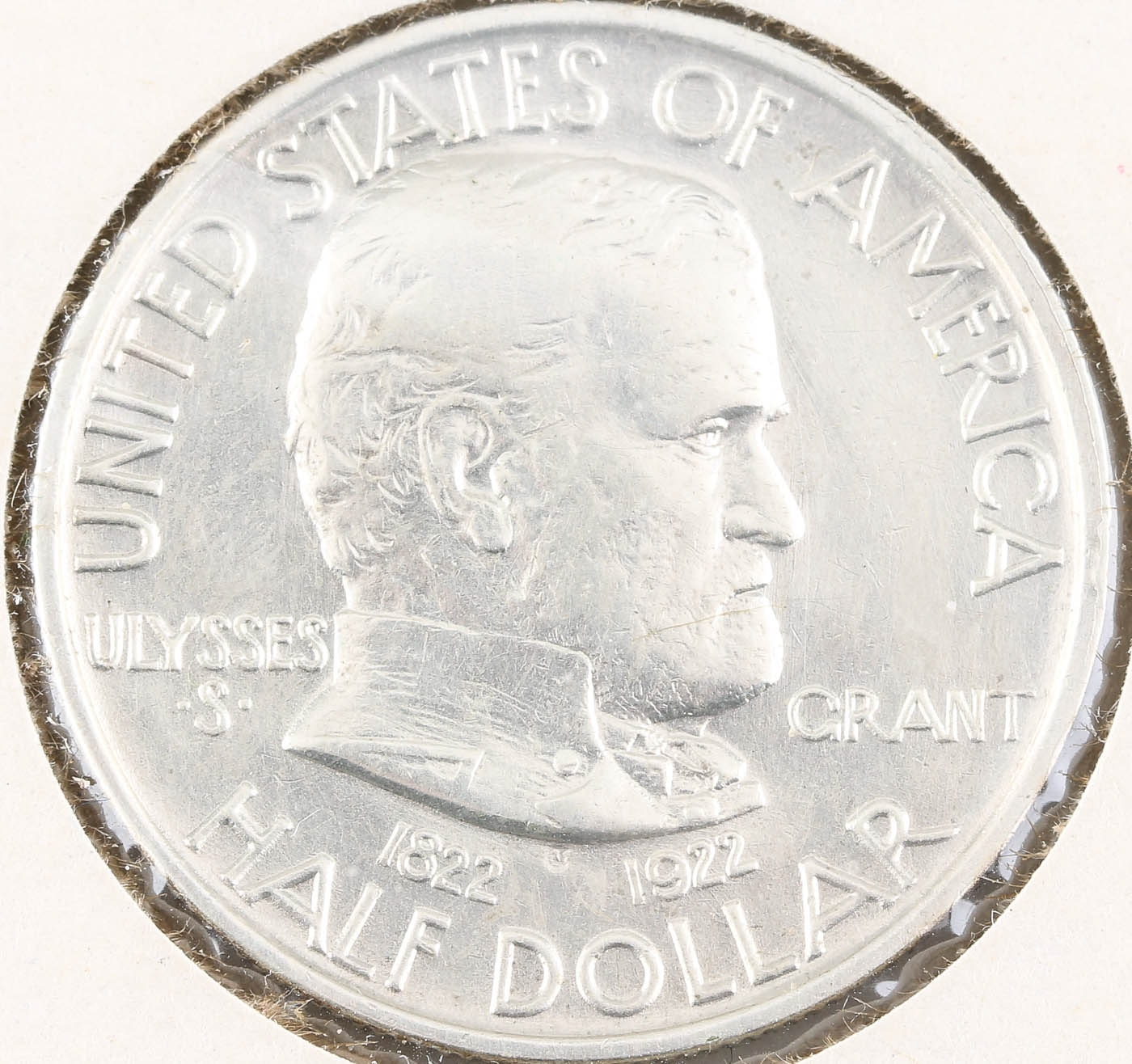 1922 Grant Commemorative Silver Half Dollar