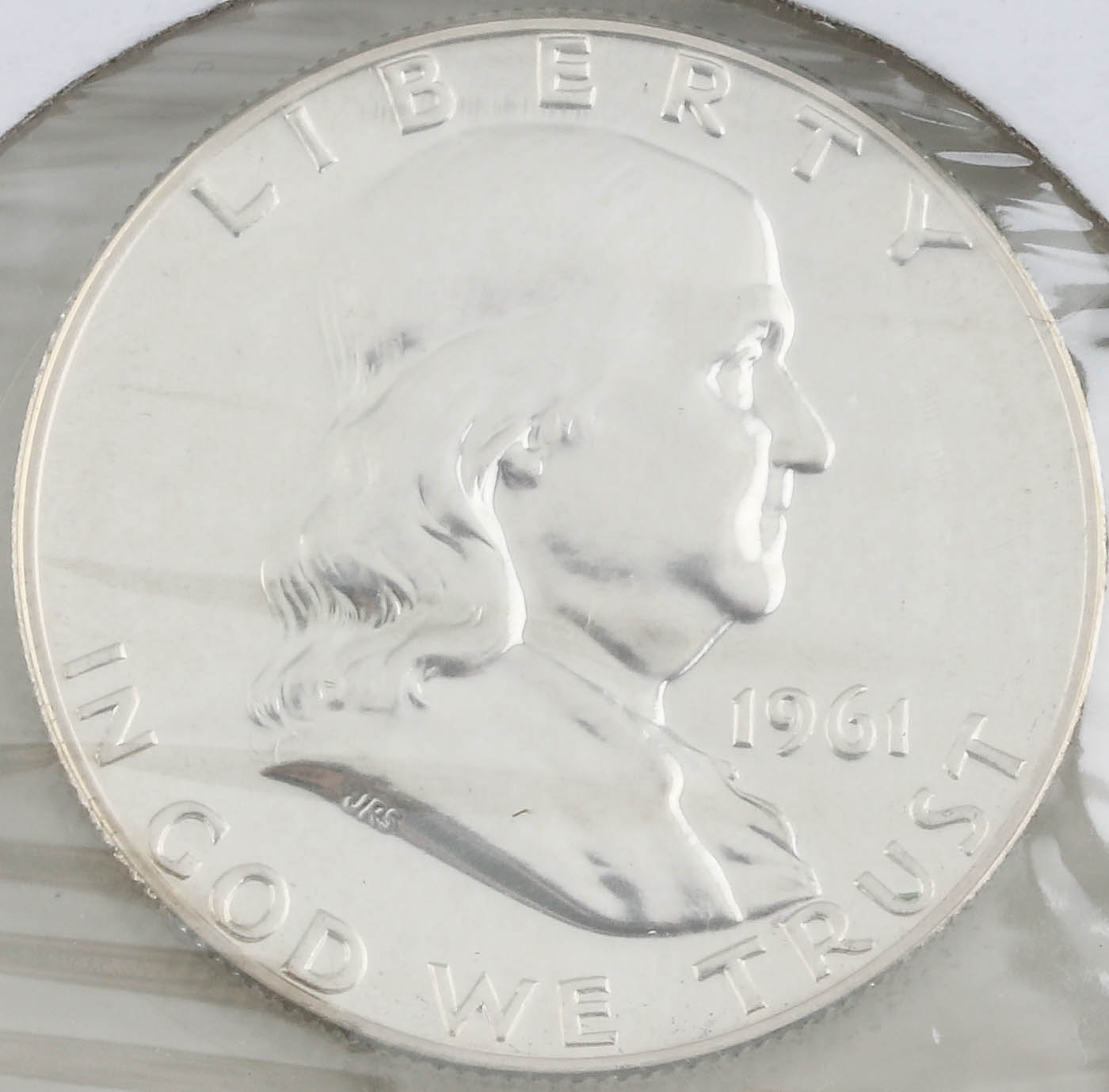 1961 Franklin Silver Half Dollar Proof Coin