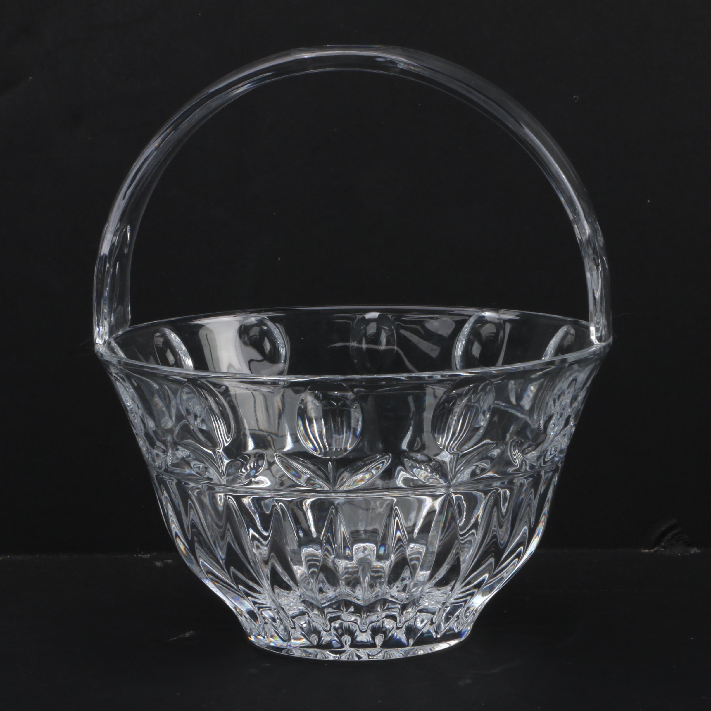 Block crystal basket