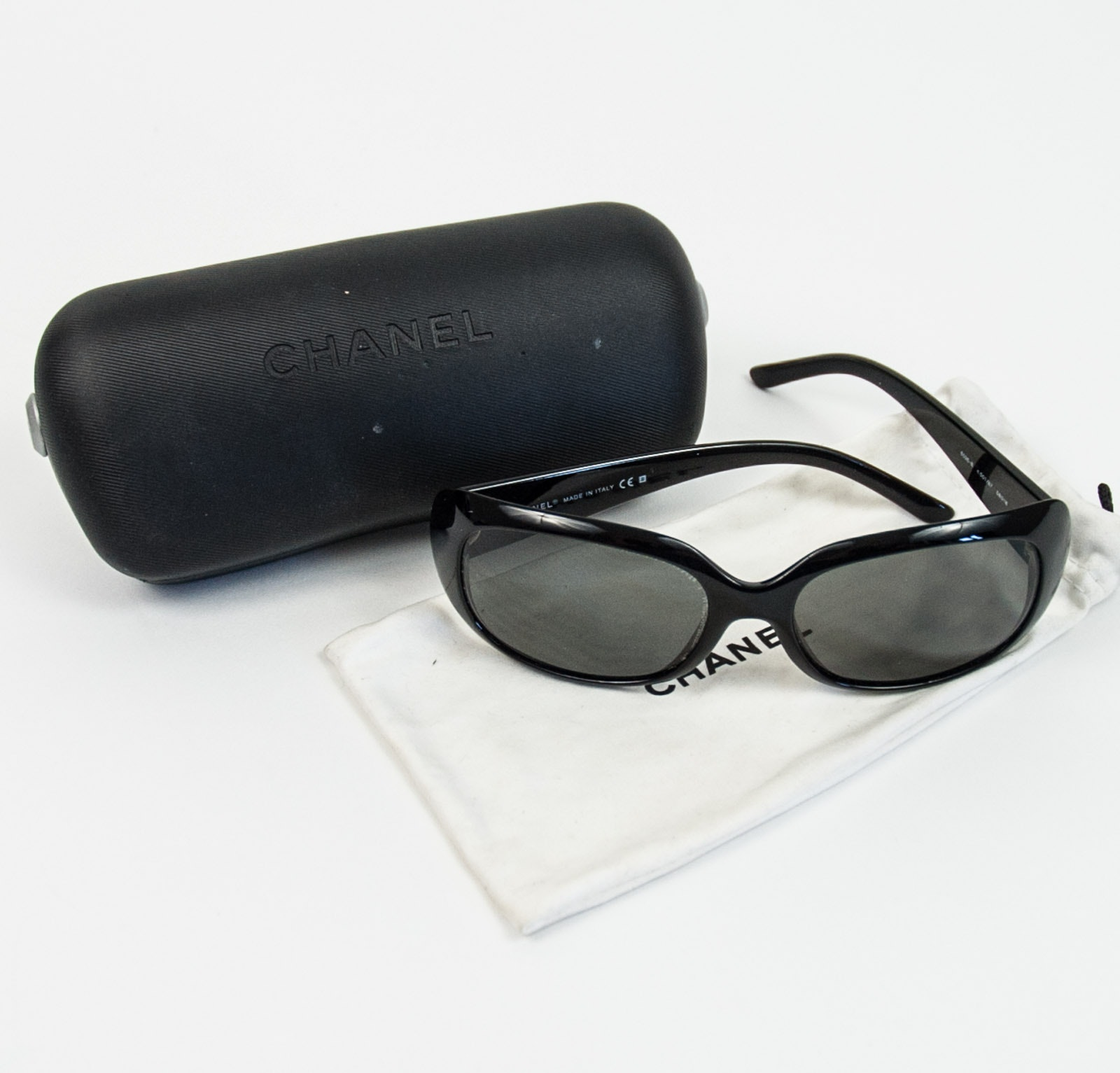 Chanel Crystal CC Logo 6026 Sunglasses