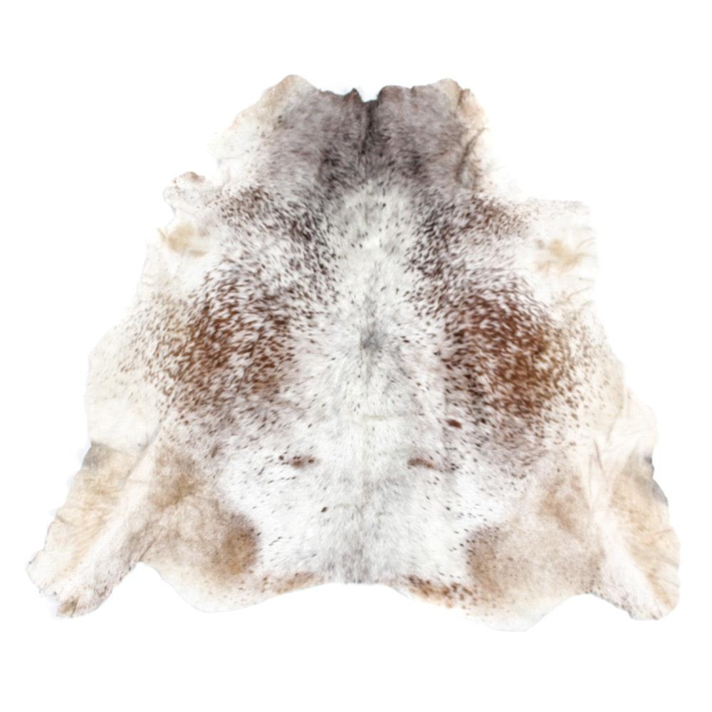Speckled Cowhide Area Rug