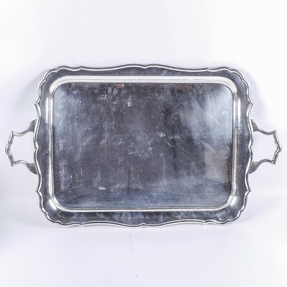 Crichton & Co., Ltd. Silver-Plated Serving Tray