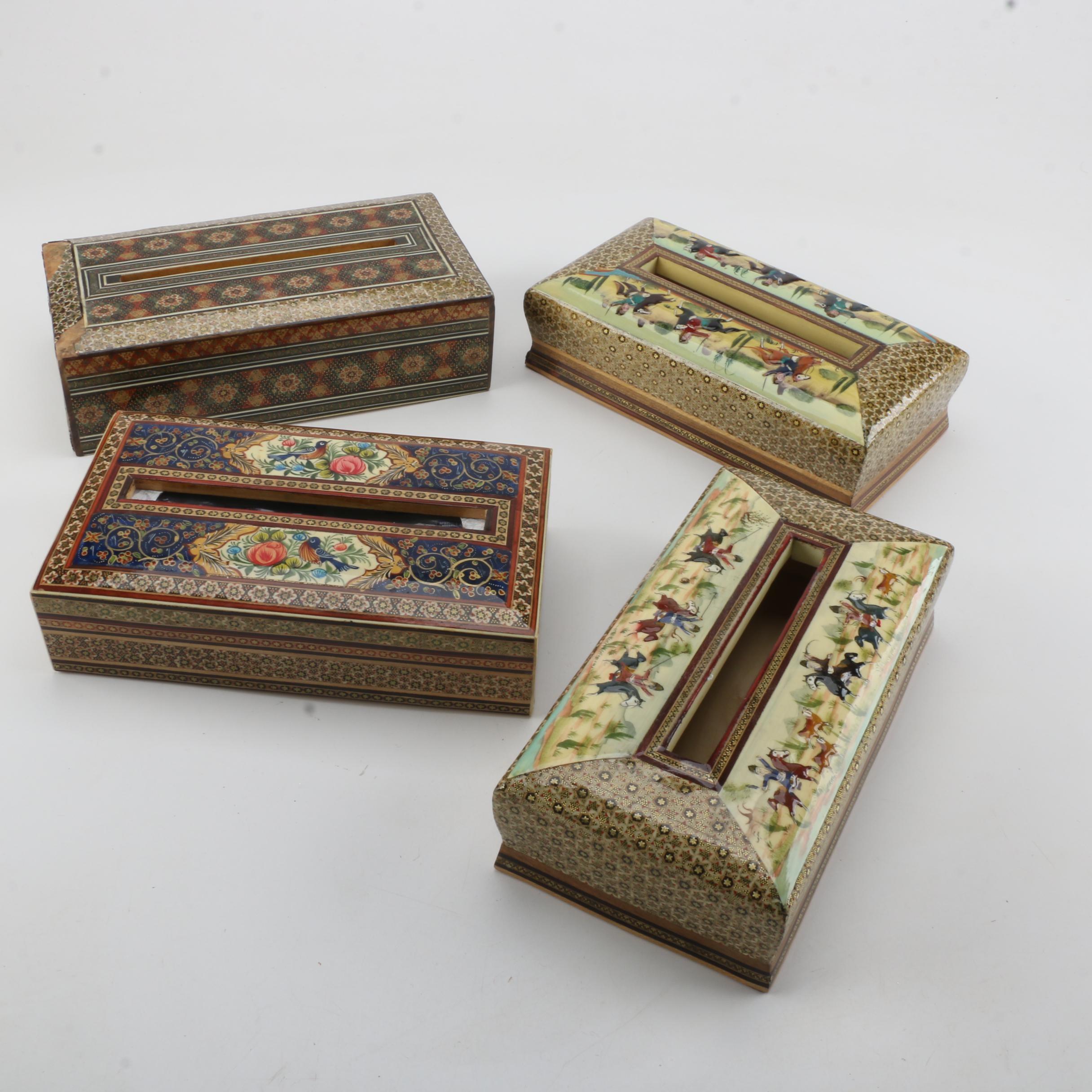 Decorative Wooden Tissue Boxes