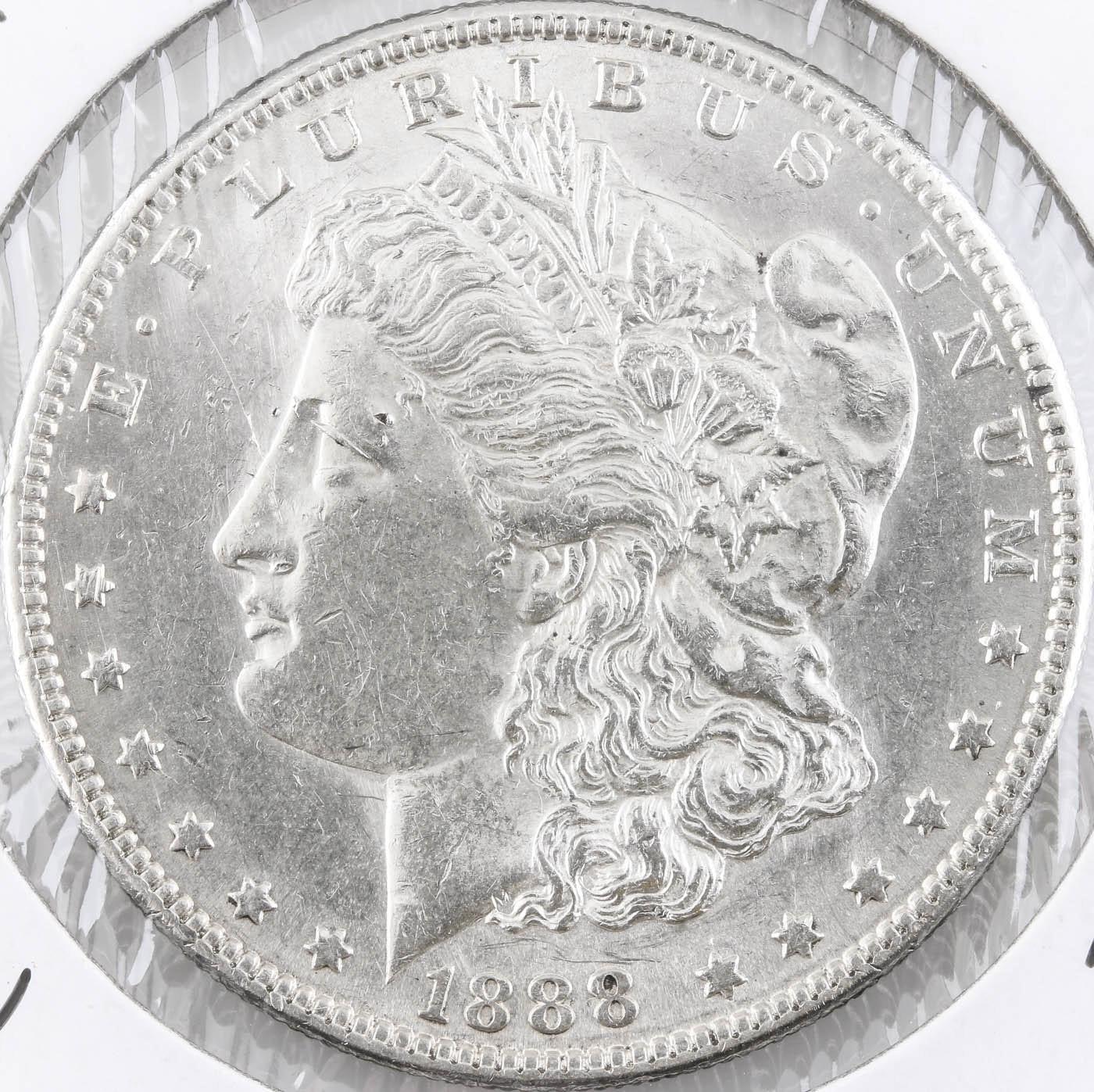Low mintage 1888-S Silver Morgan Dollar