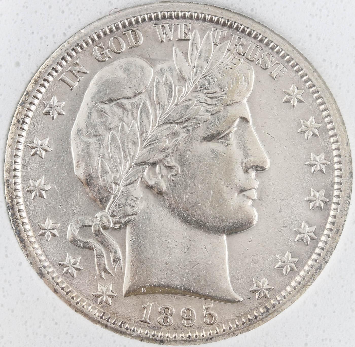 1895-O Silver Barber Half Dollar