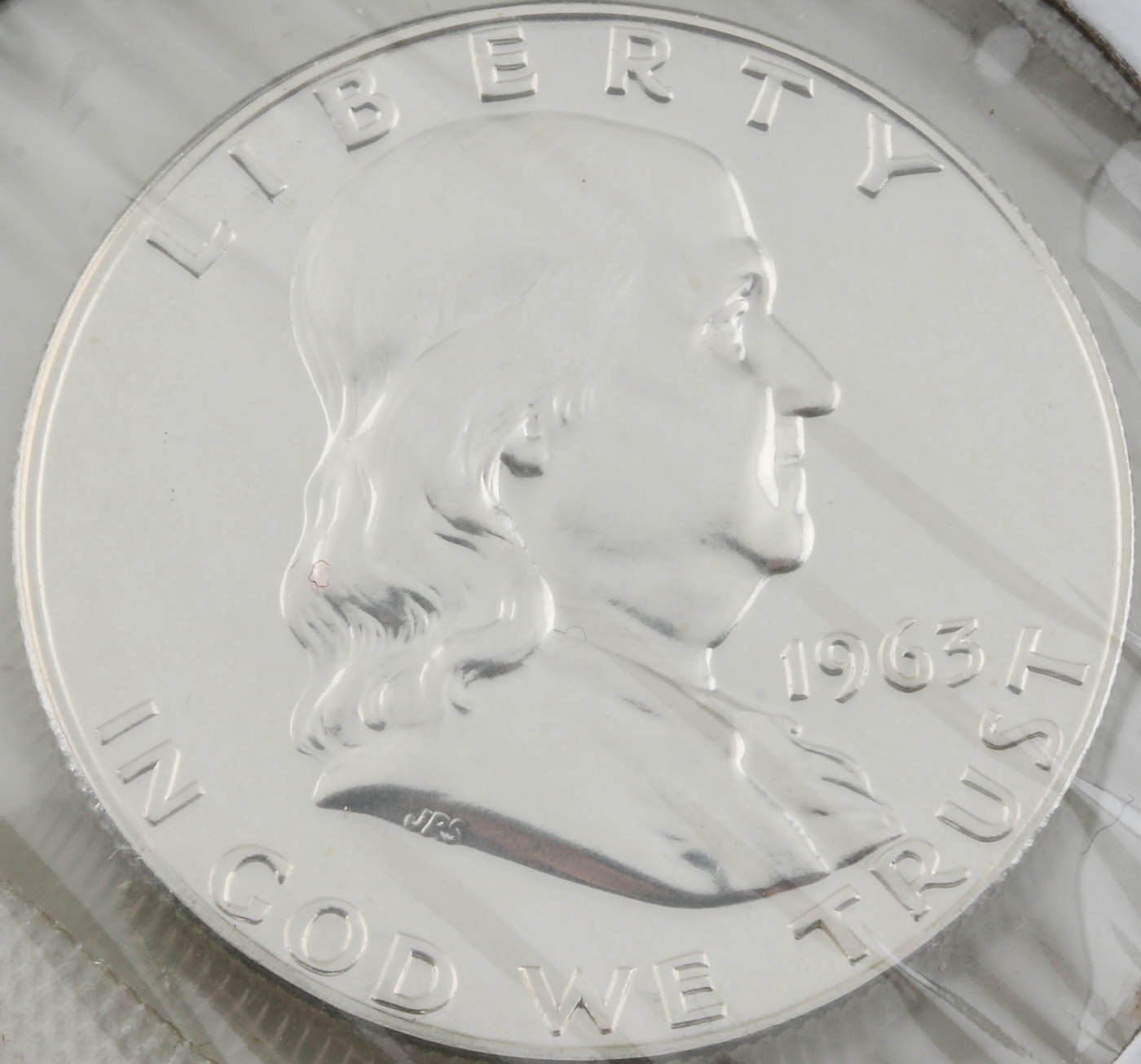 1963 Franklin Silver Half Dollar Proof Coin