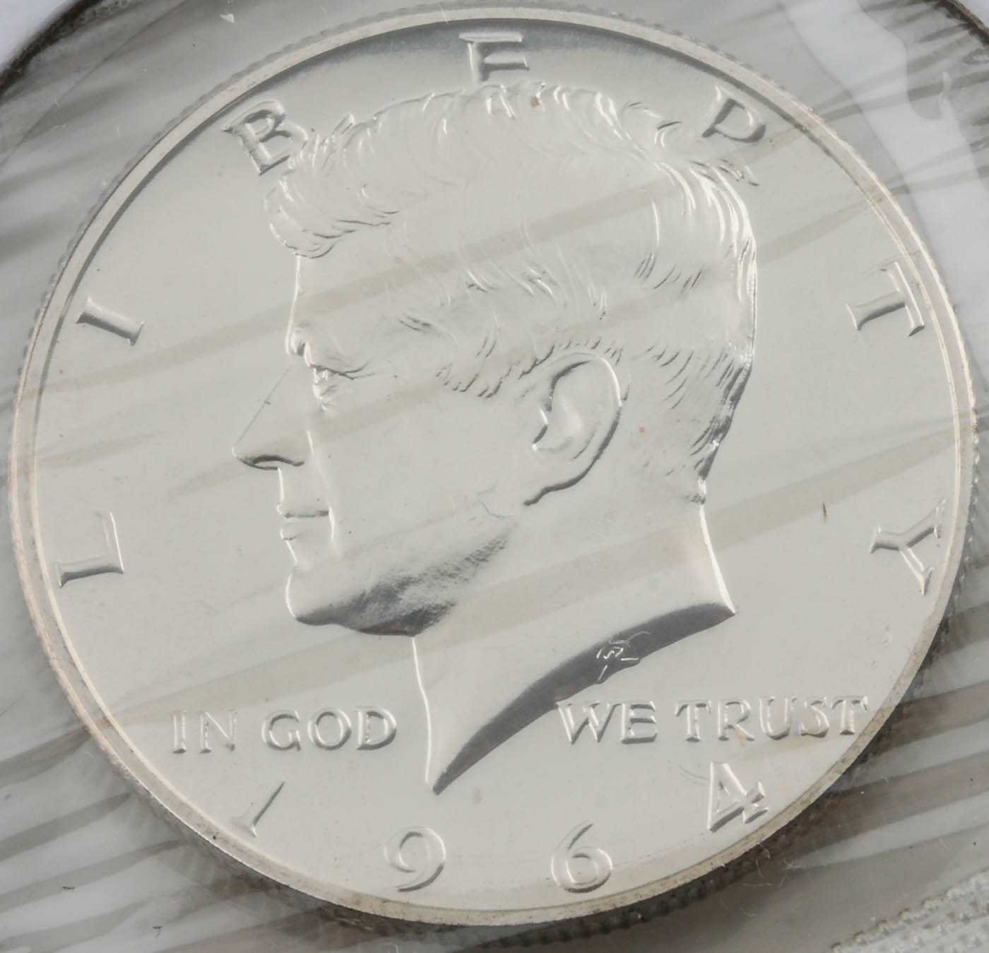 1964 JFK Silver Half Dollar Proof Coin