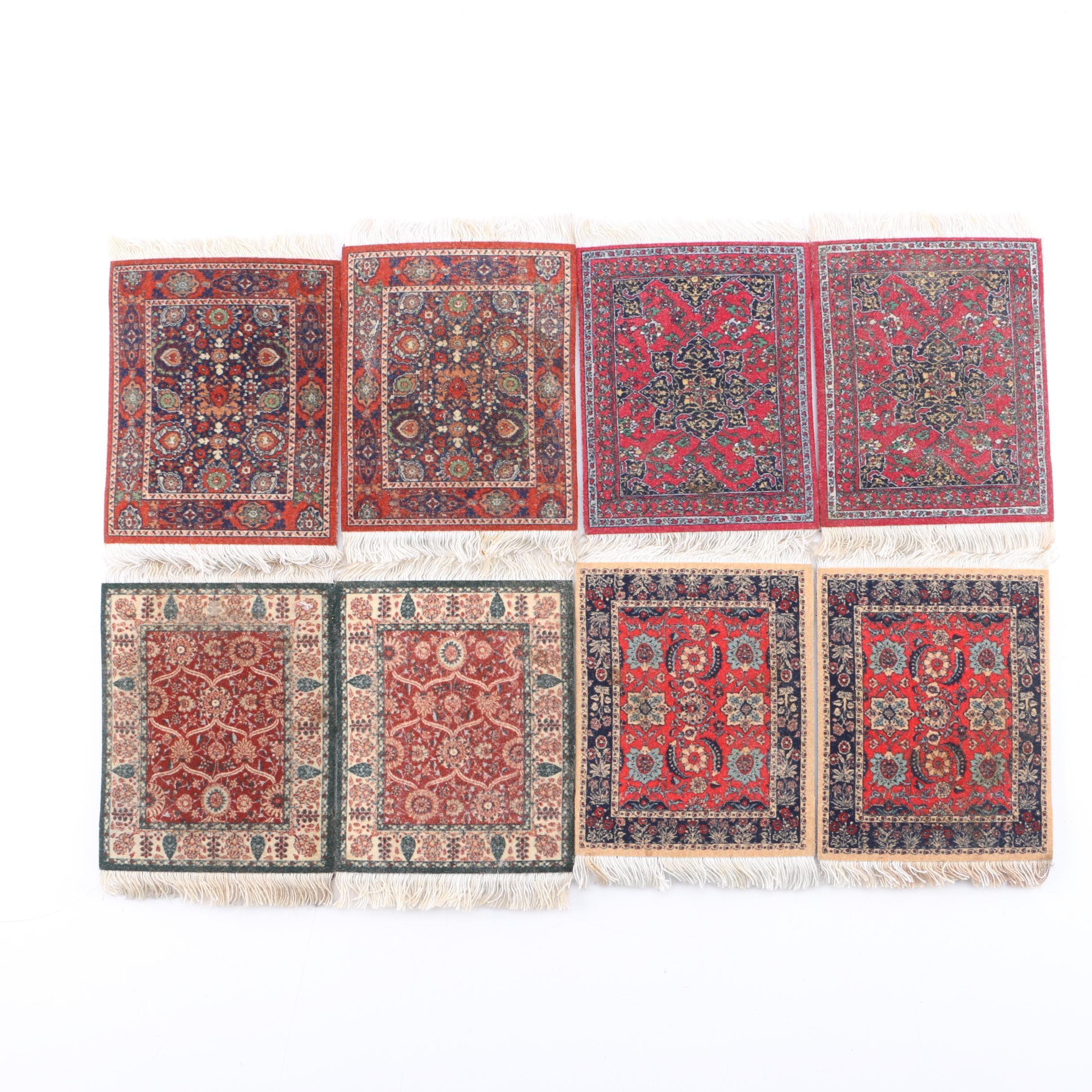 Set of Miniature Rug Coasters