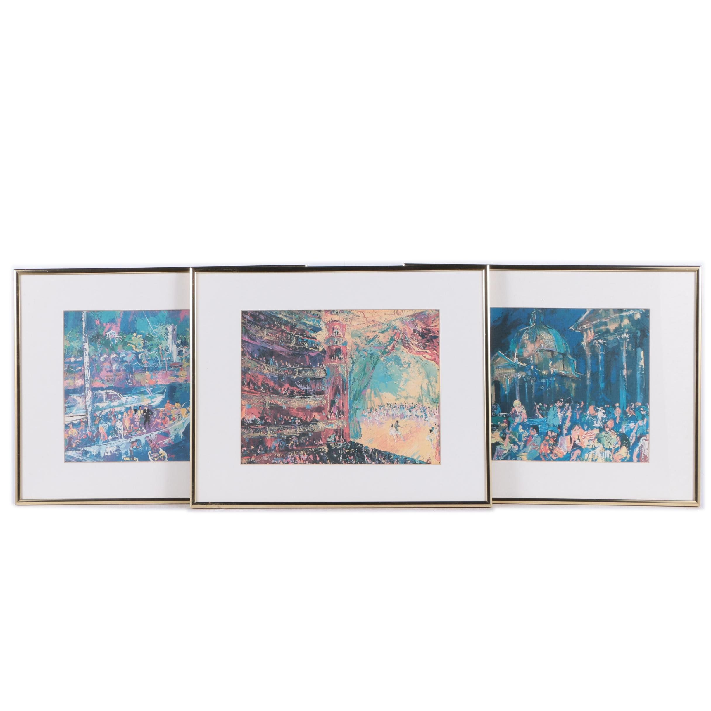 Framed Offset Lithographs after Leroy Neiman