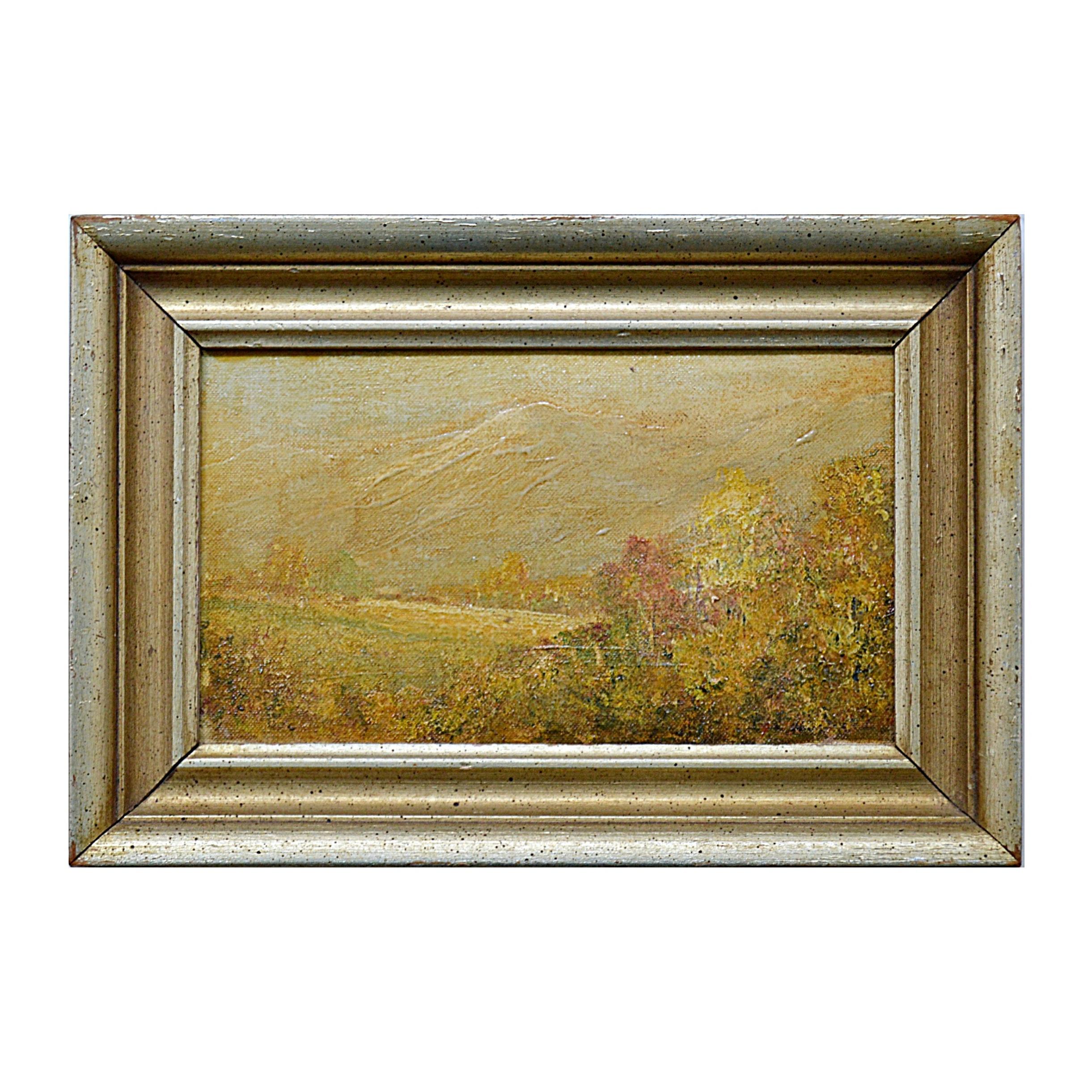 William Eyden Oil on Canvas Landscape