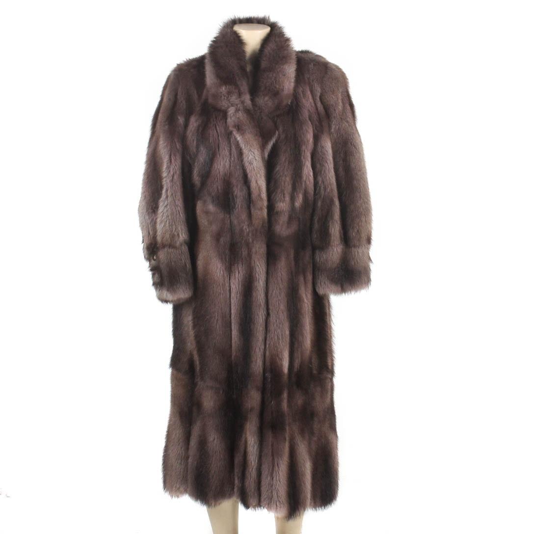Vintage Fisher Sable Fur Coat