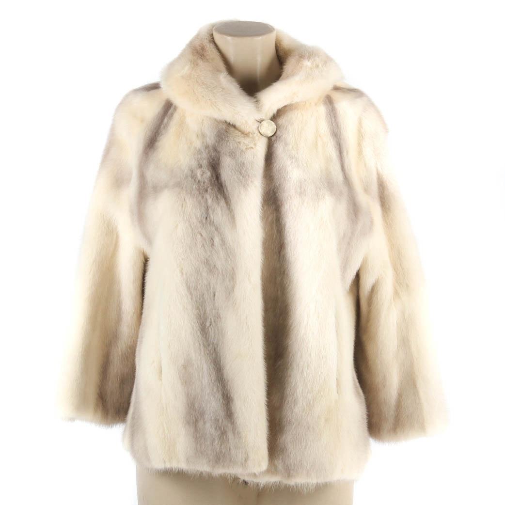 Vintage Evans Tourmaline Mink Fur Jacket