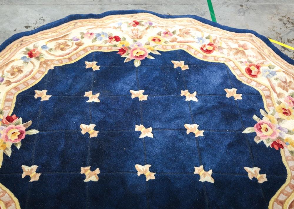 Royal Palace Handmade Wool Rug Ebth