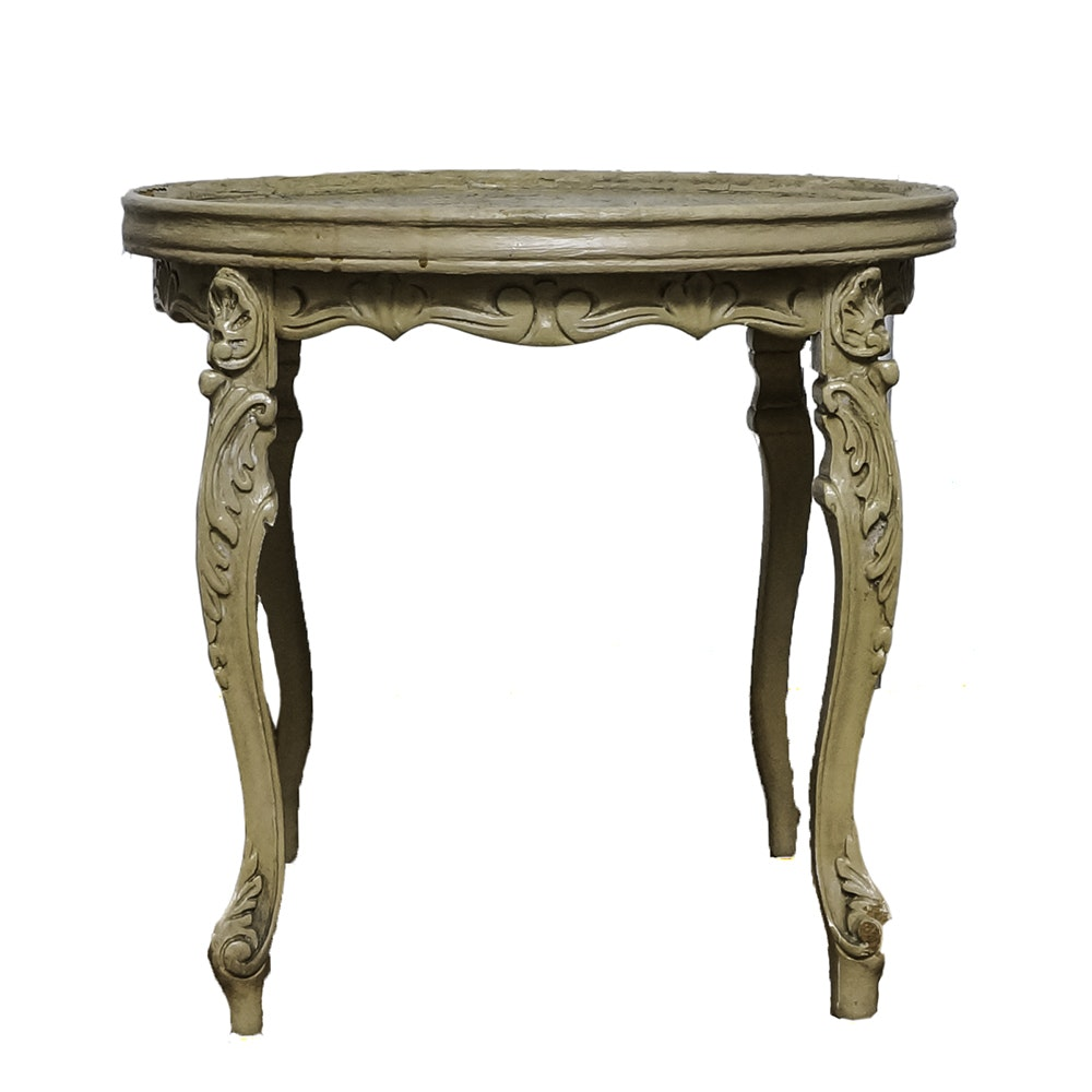 French Provincial Style End Table