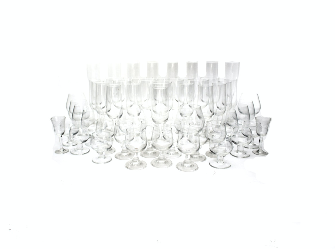 Glassware and Cocktail Collection