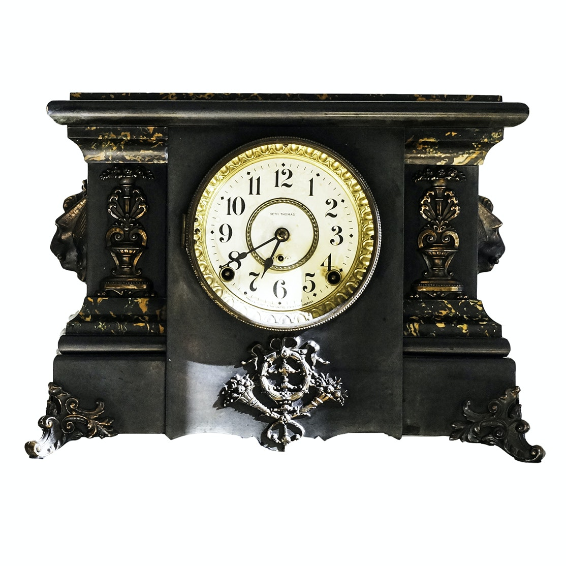 Antique Seth Thomas Pillar Mantel Clock