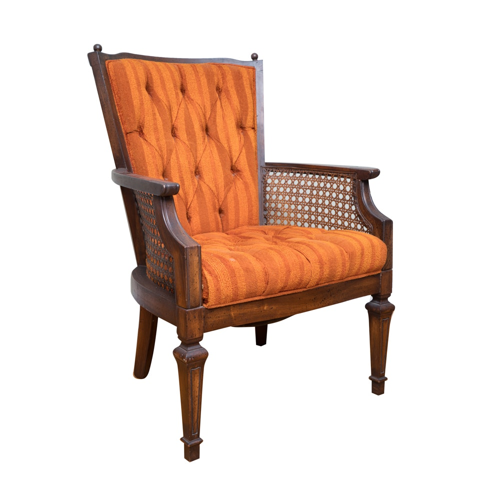 French Style Tufted Armchair