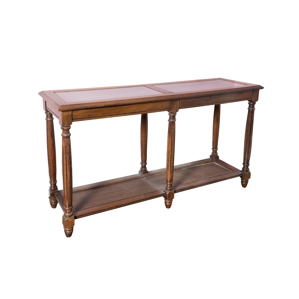 Sheraton Style Console Table