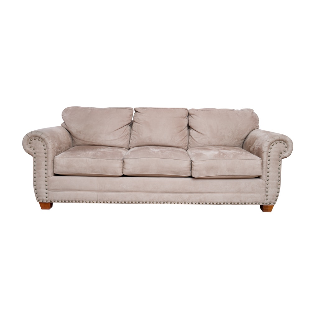 Contemporary Roll Arm Sofa by Bauhaus