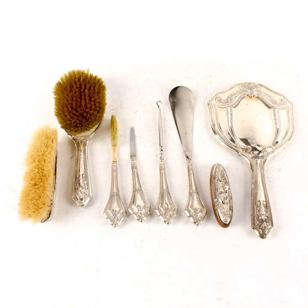 Webster Co. and Nussbaum & Hunold Sterling Silver Vanity Collection