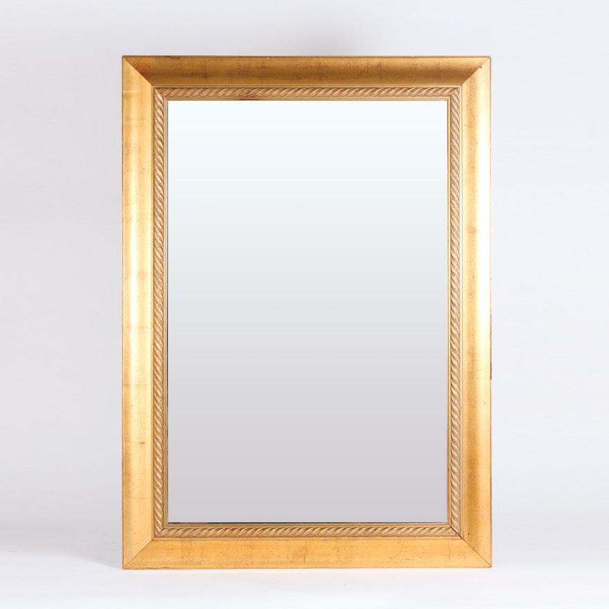 Large Gold Gilt Framed Wall Mirror : EBTH