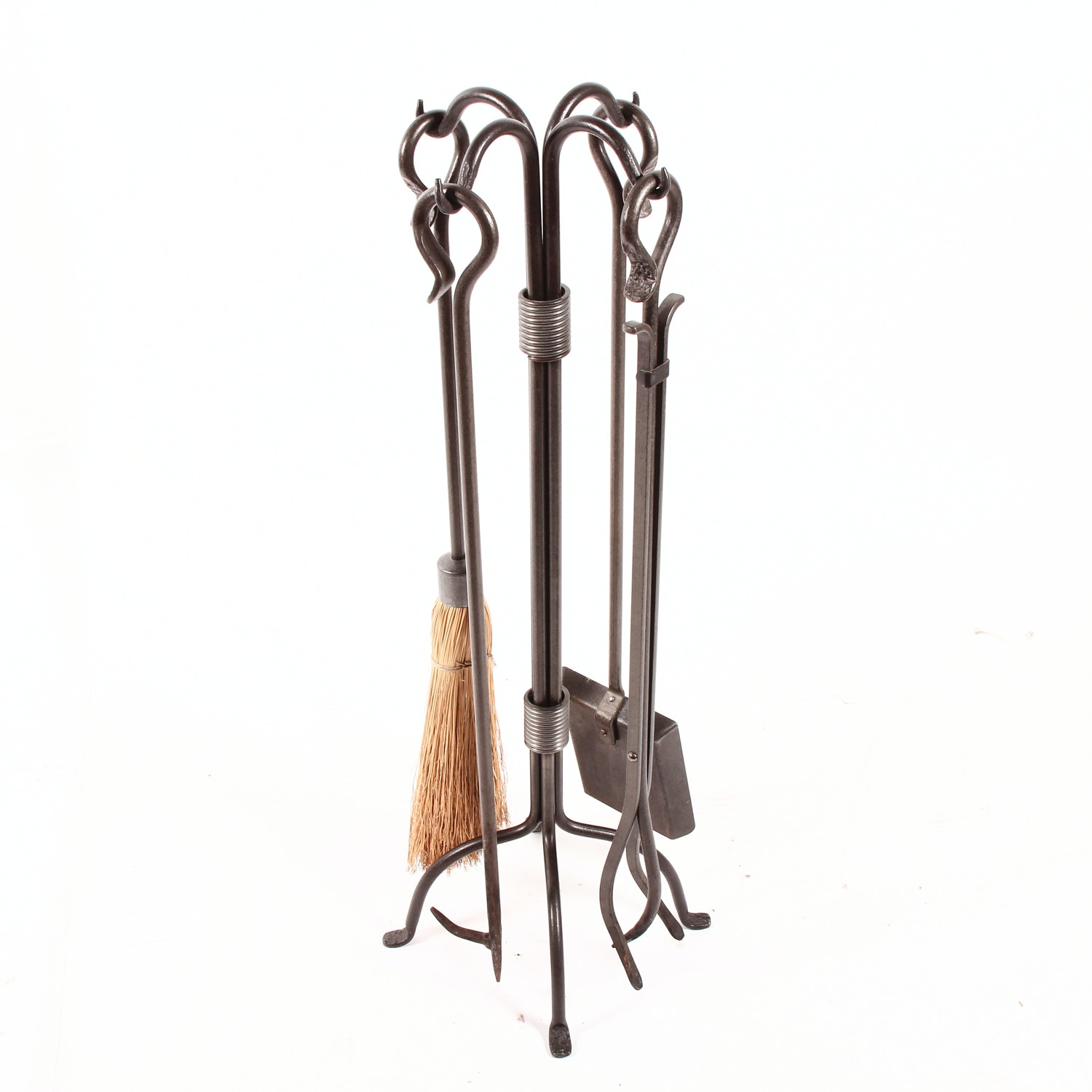 Contemporary Fireplace Tool Set