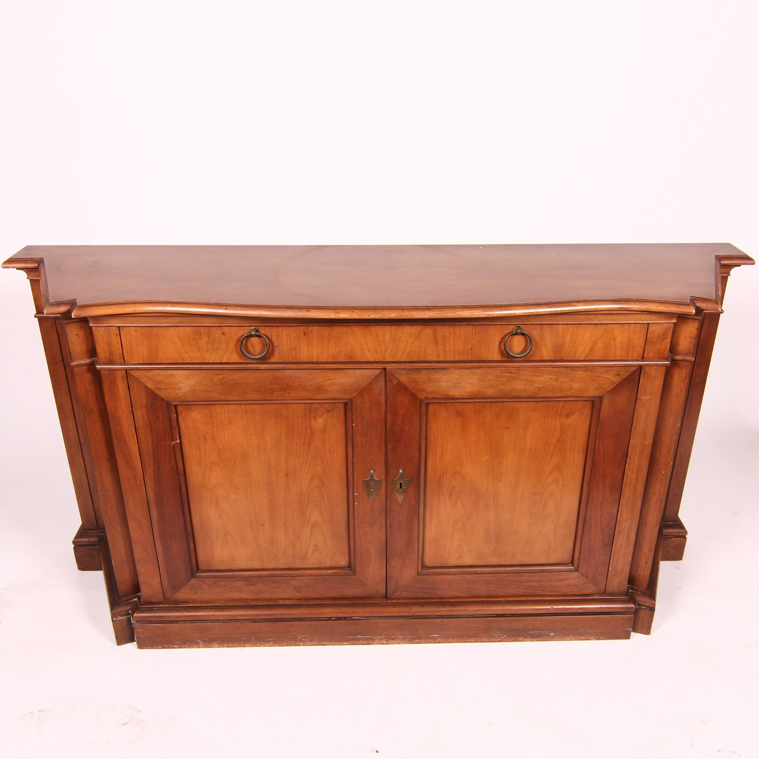 Cherry Breakfront Sideboard from Baker Furniture
