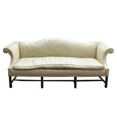 Vintage Camelback Sofa Down Feather Sofa