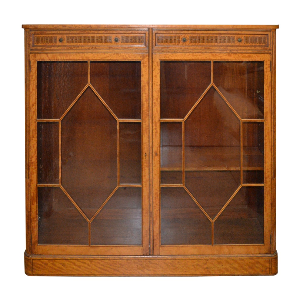 George III Style Cabinet by Gregory & Co., London