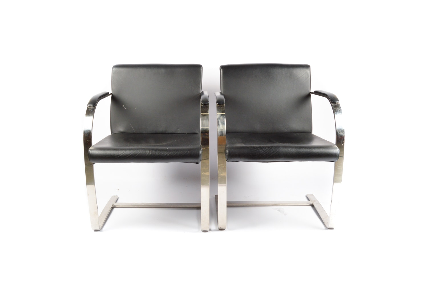 "Pair of Modern ""Brno"" Style Arm Chairs"