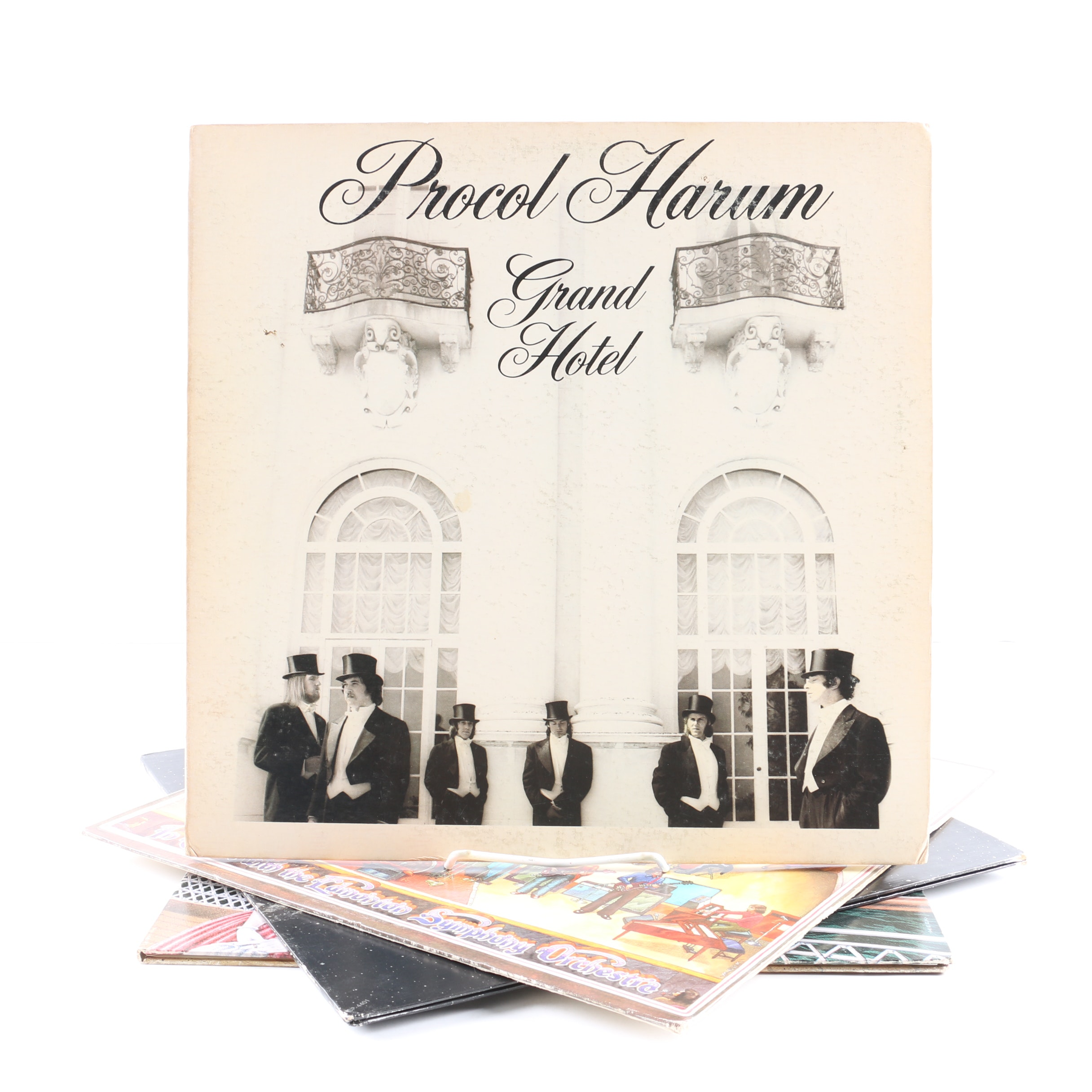 """Procol Harum LPs Including """"Grand Hotel"""" and """"Something Magic"""""""
